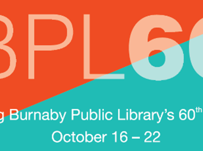 Burnaby Public Library celebrates 60 year Anniversary!